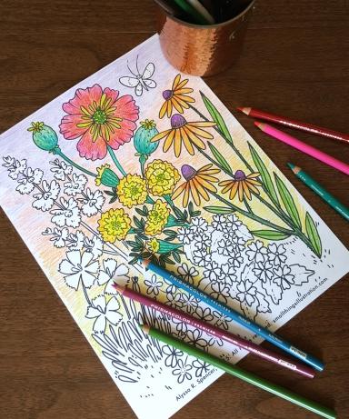 flowermeadowprintable