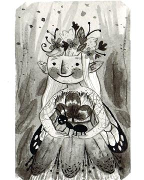 Print_PrincessCloverwebMilkweed4x6